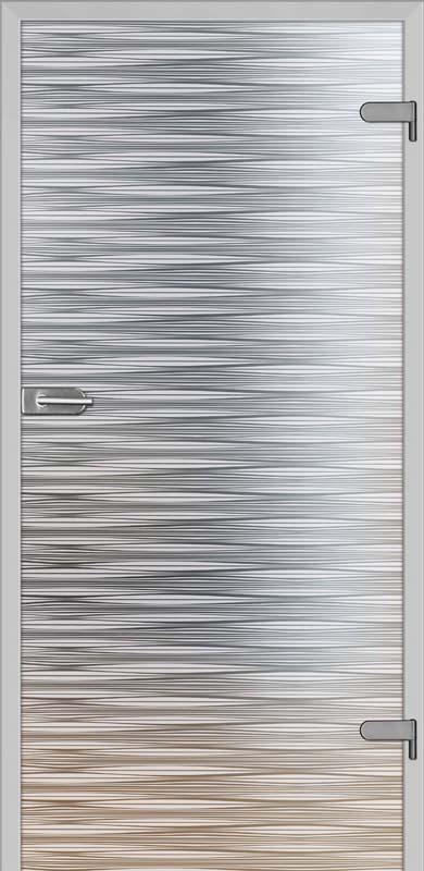 Galla 10: szyba decormat, wzór sitodruk